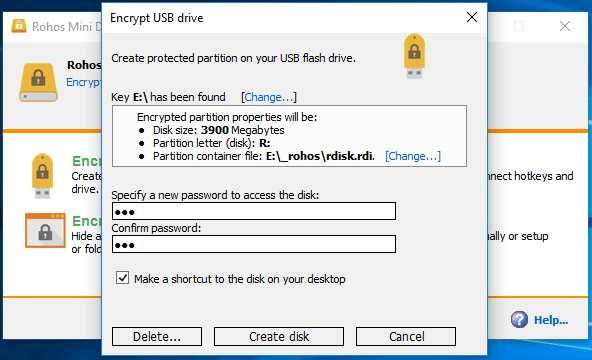 how to password protect your flash drive